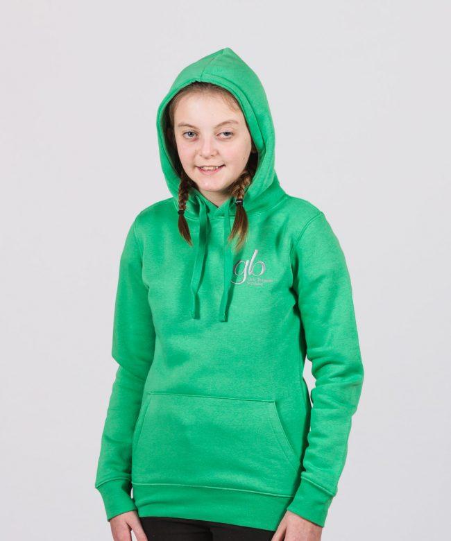 Brigader Apple Green Hoodie