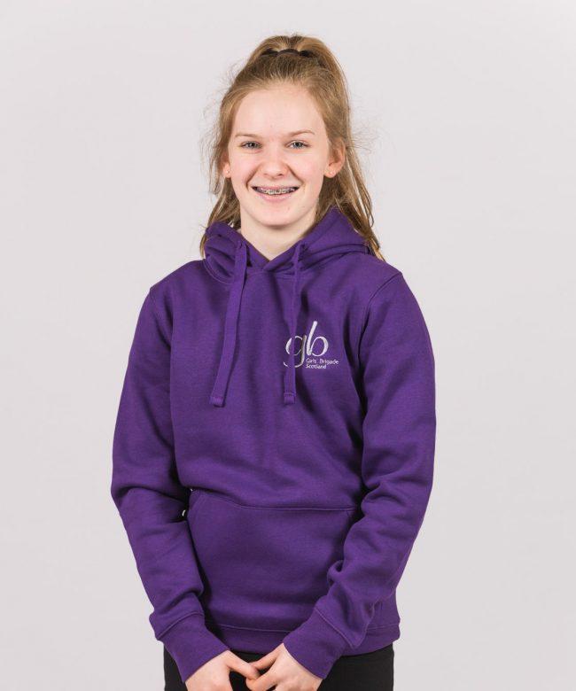 Brigader Purple Hoodie