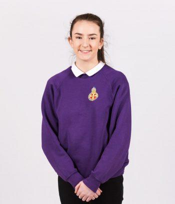 Brigaders Purple Sweatshirt