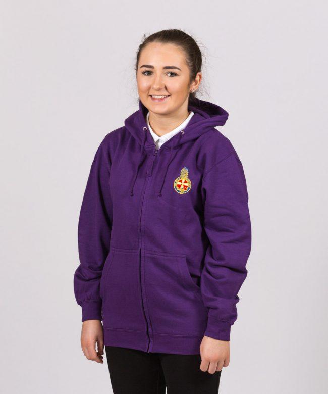 Brigader Purple Zoodie