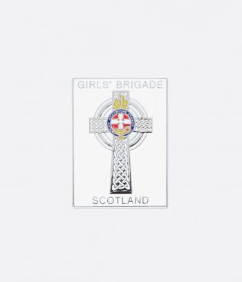 celtic cross badge