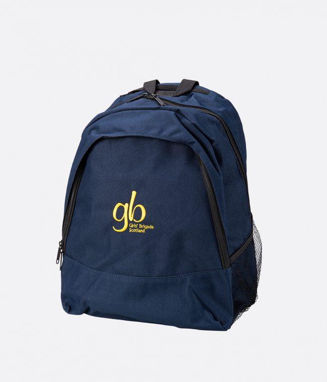 backpack in navy