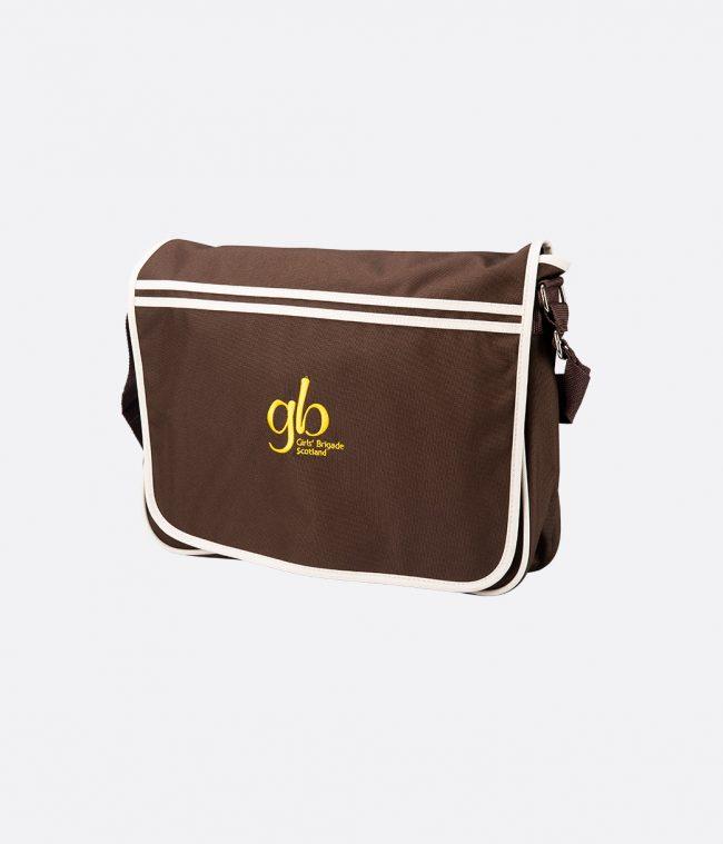 cjhocolate retro messenger bag