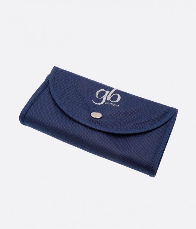 blue popper shopper bag