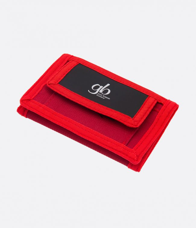red ripper wallet