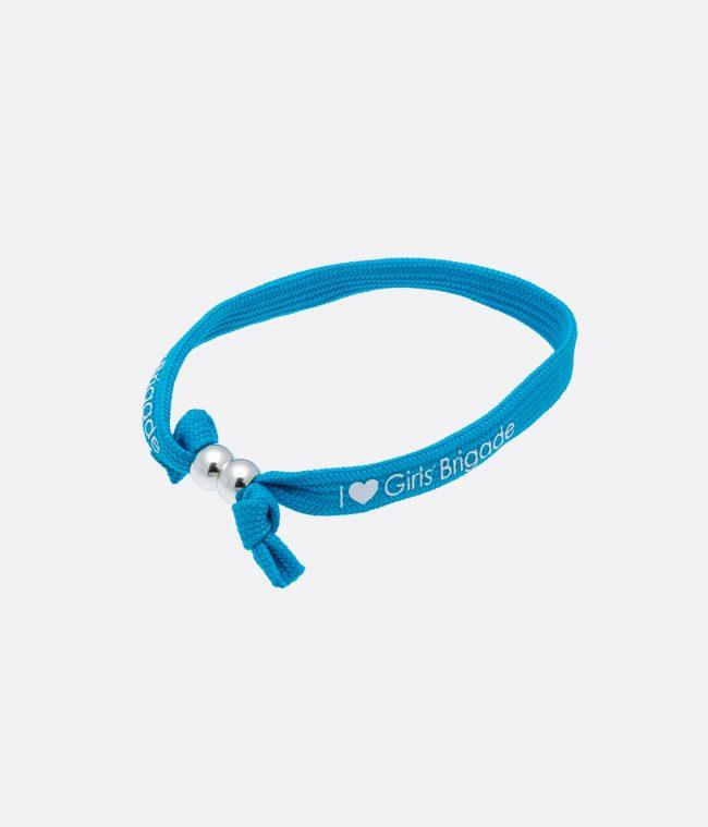 blue wrist band
