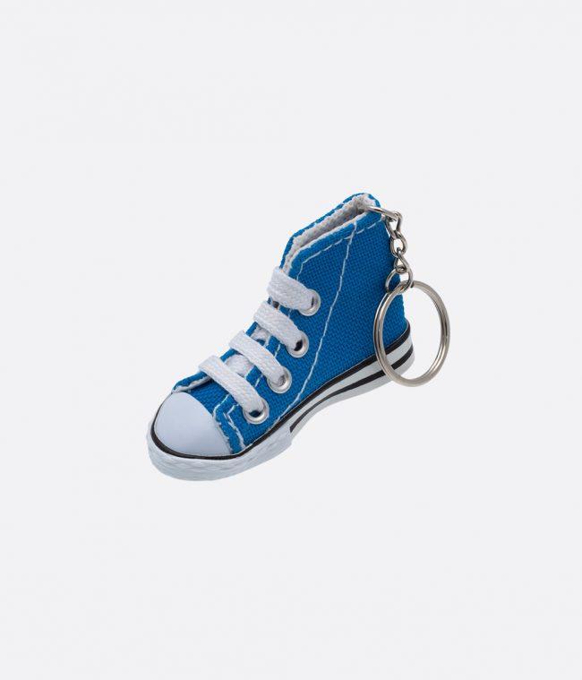sneakers blue keyring