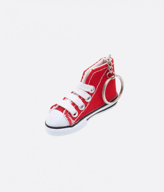 red sneakers keyring