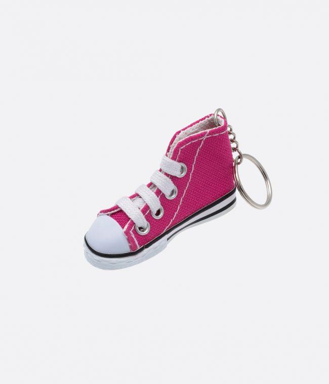 pink sneakers keyring