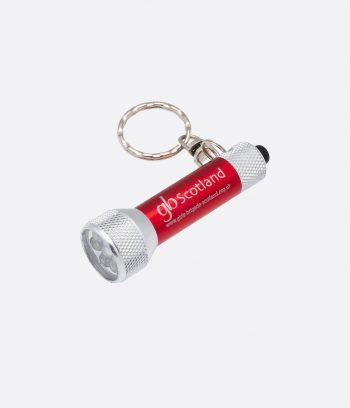 red torch keyring