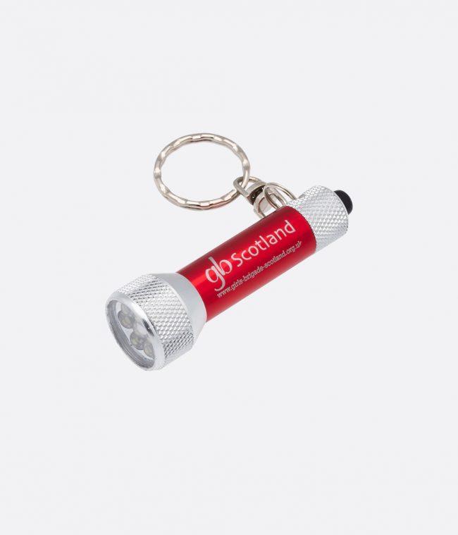 red torch keyring