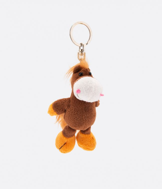 horse animal key ring