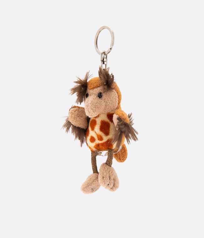 owl animal key ring