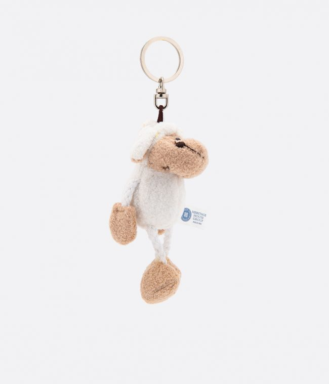 sheep animal key ring