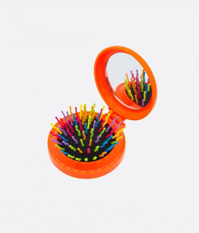 mirror brush orange