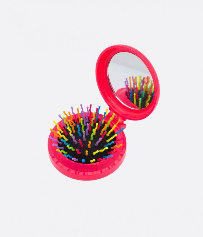 mirror brush pink