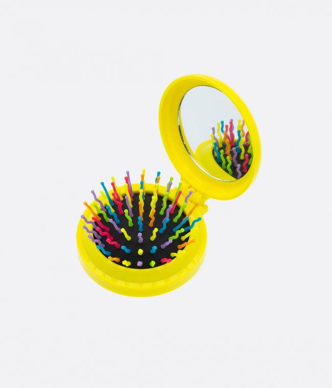 mirror brush yellow