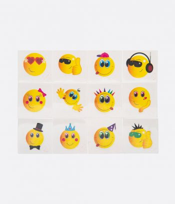 emoji smiley tatoos