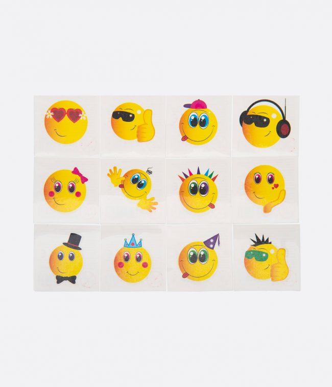 emoji smiley tatoos