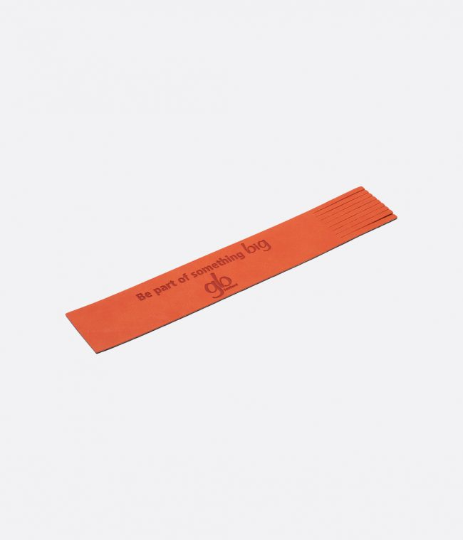 orange luxor bookmark