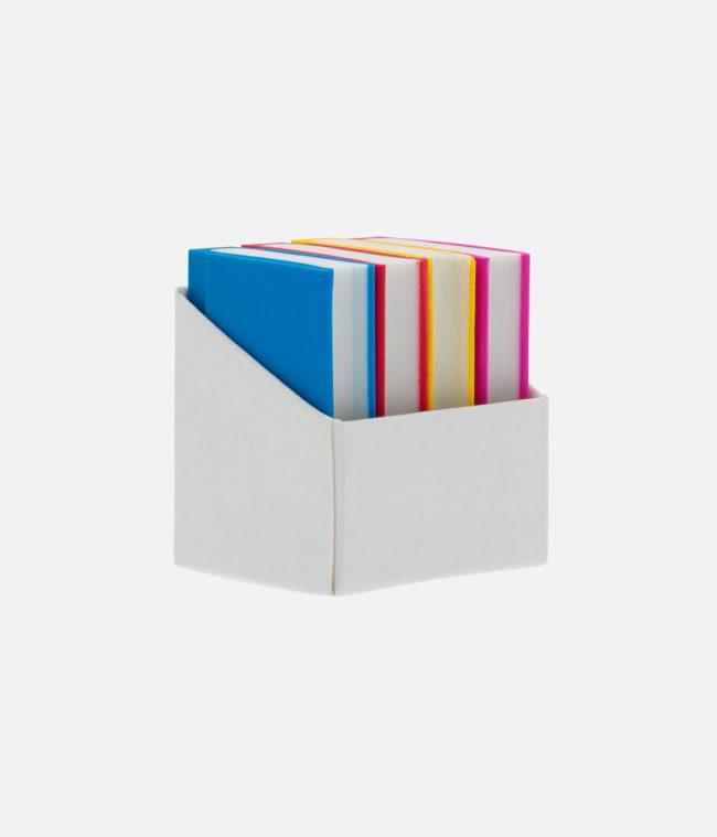 book of mini erasers