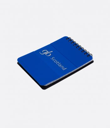 silicon notepad blue