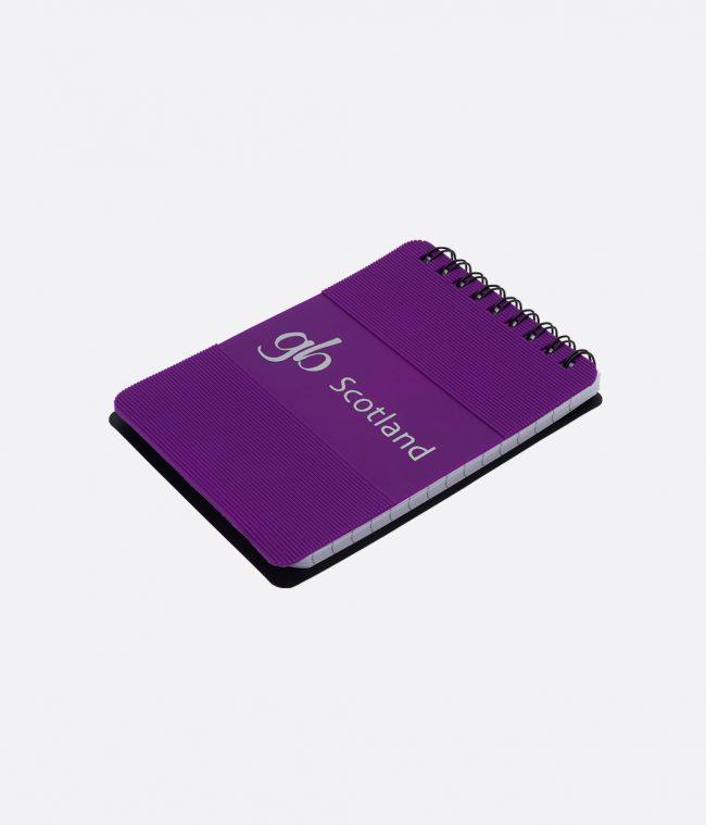 silicon notepad purple
