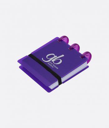 bright ring pad purple