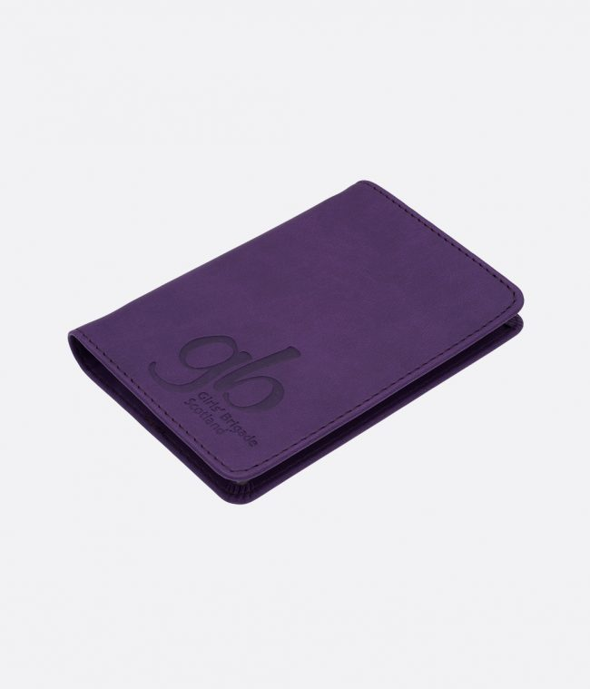 soft touch luxor notebook purple