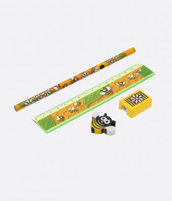 Honey bee stationary set
