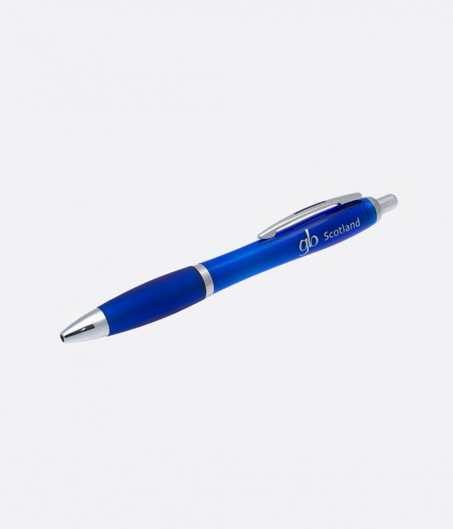 Gloss grip ballpen blue