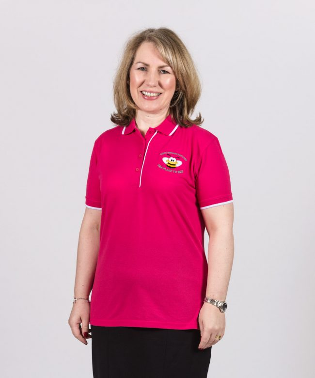 Leader Pink Gracie Bee Polo